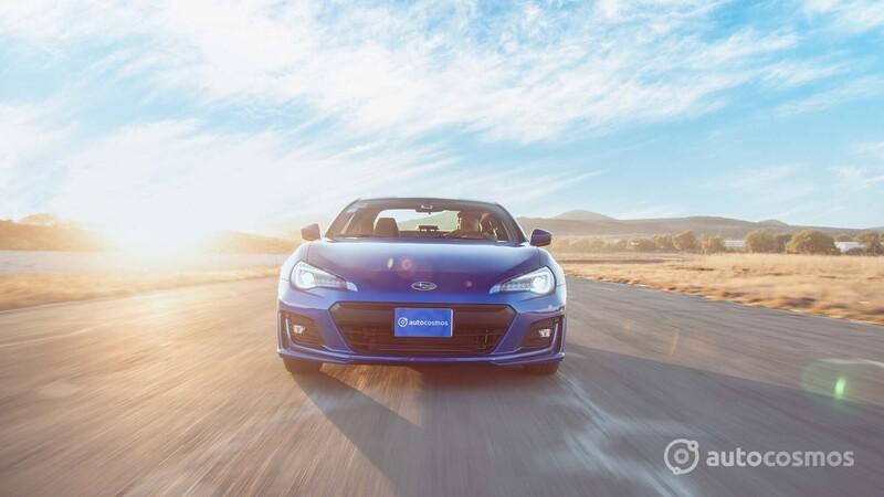 Subaru BRZ 2021 a prueba