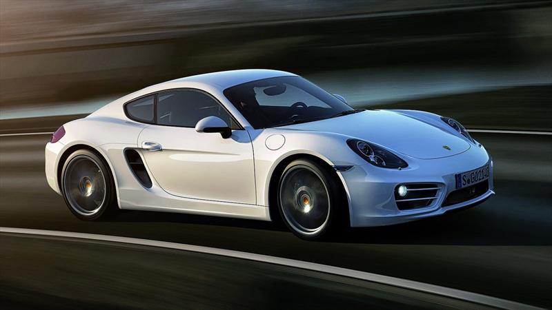 Porsche Cayman Coupé Mk2