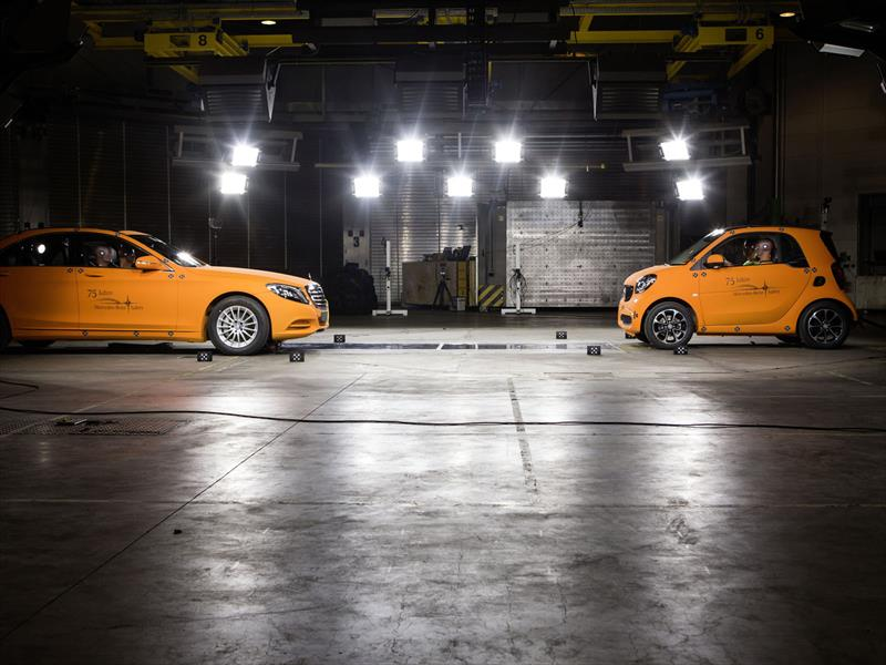 smart ForTwo VS Mercedes-Benz Clase S