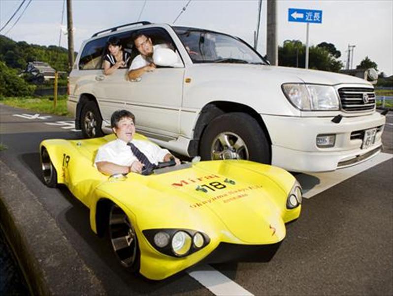 Top 10: Mirai, el auto más bajo del mundo