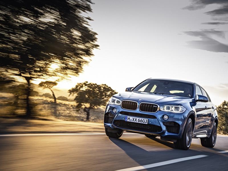 BMW X6 M y X5 M 2015