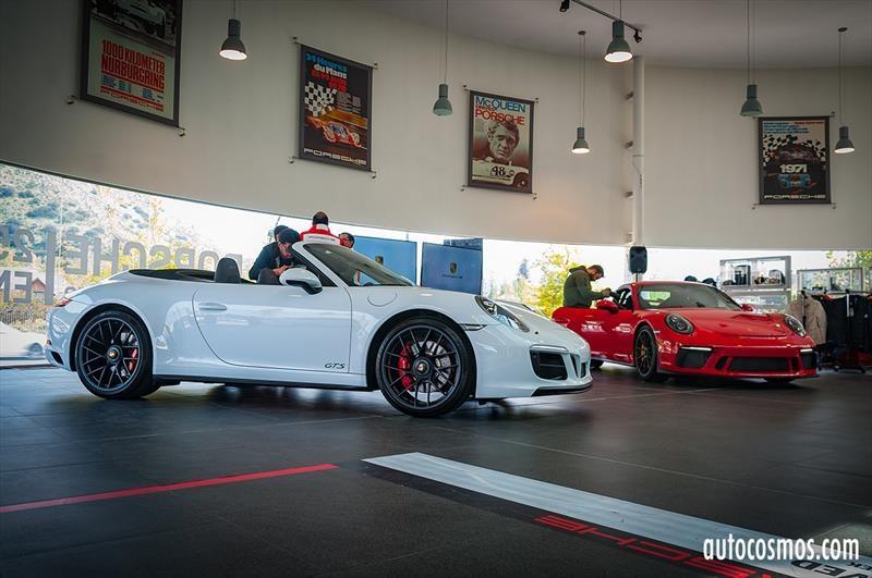 Porsche 911 GTS Y GT3 2018 - Lanzamiento en Chile