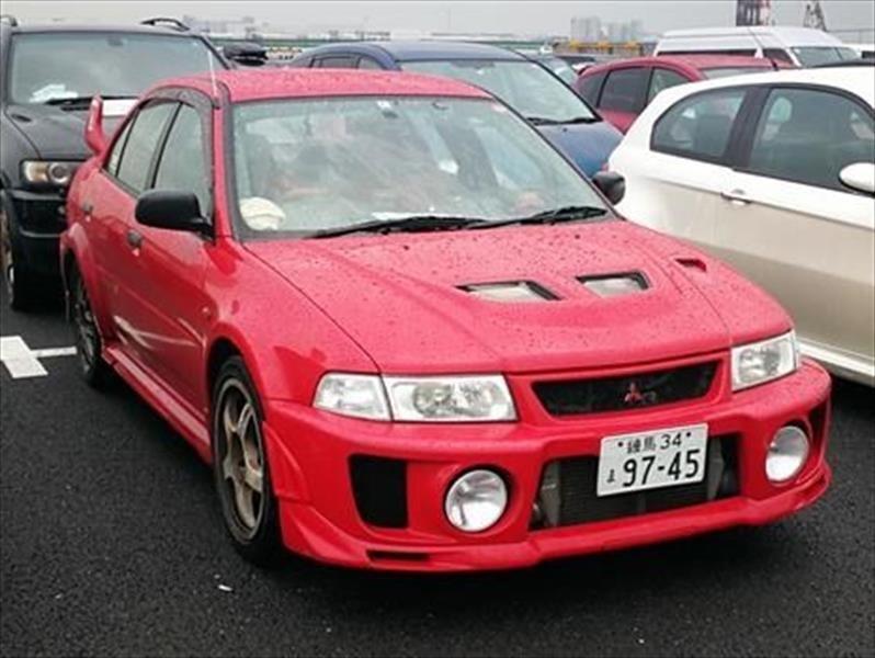 Salón de Tokio: Mitsubishi Lancer Evolution V