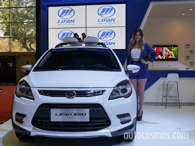LIFAN en el Salón de Buenos Aires 2015
