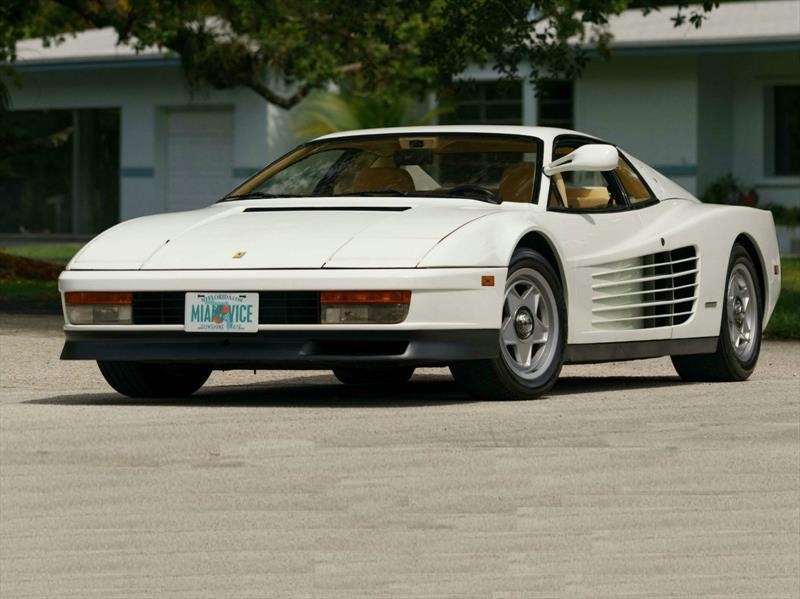 Ferrari Testarossa 1986 de Miami Vice