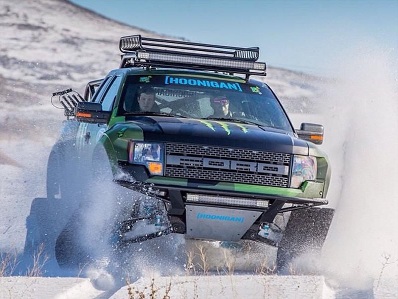 "Ford F-150 ""RaptorTrax"" de Ken Block"