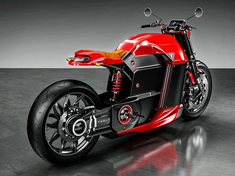 Tesla M Concept, electricidad en dos ruedas