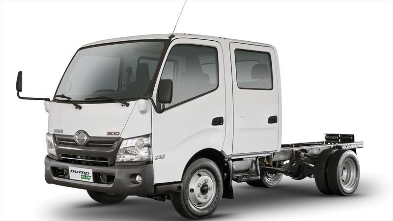 Nueva cara de los camiones Dutro de HINO