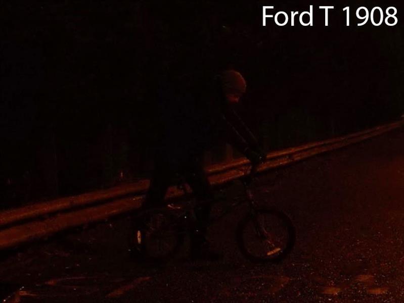 Ford pruebas de iluminación