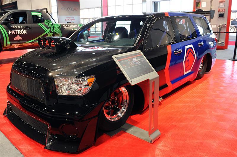 Top 10: Toyota DragQuoia en SEMA Show 2012
