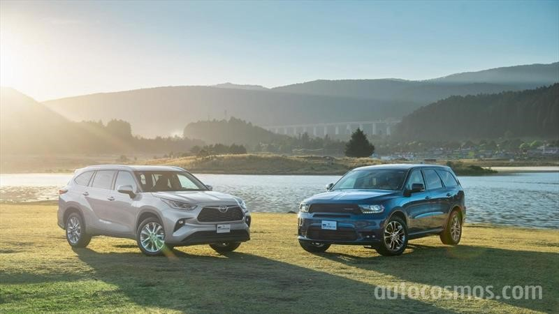 Toyota Highlander 2020 VS Dodge Durango 2020