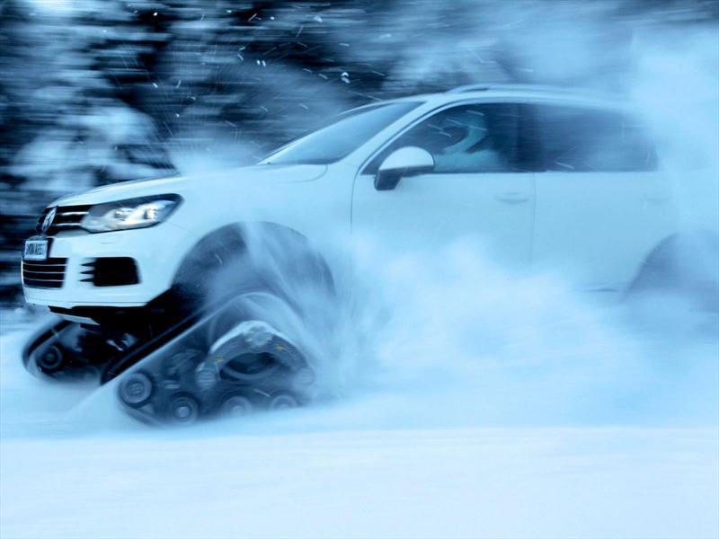 Volkswagen Snowareg, un Touareg para la nieve