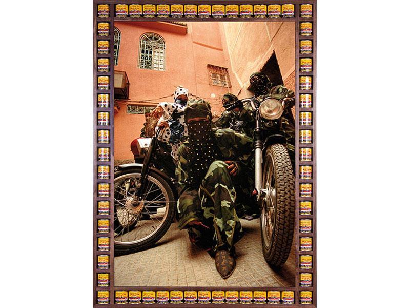 Mujeres motociclistas marroquíes