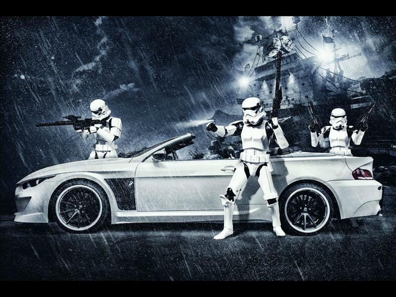 BMW M6 Stormtrooper