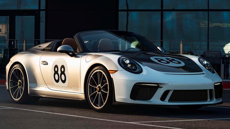 Último Porsche 911 Speedster