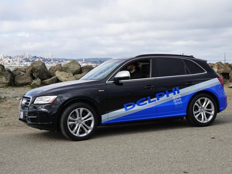 Audi Q5 autónomo de Delphi