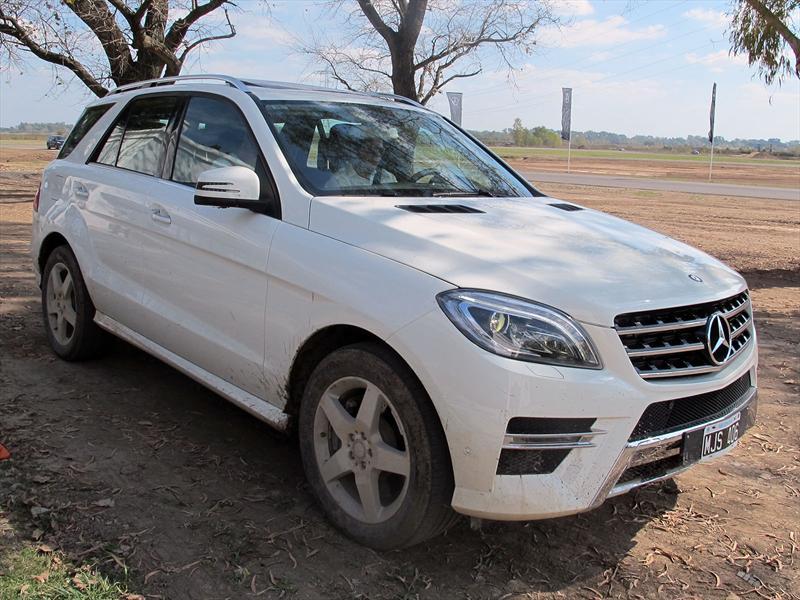 Mercedes-Benz ML presentación en Argentina