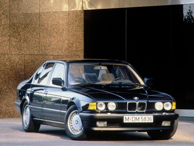 BMW Serie 7 E32 - Segunda generación (1986-1994)
