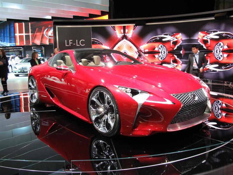 Lexus LF-LC Concept en el Salón de Detroit 2012