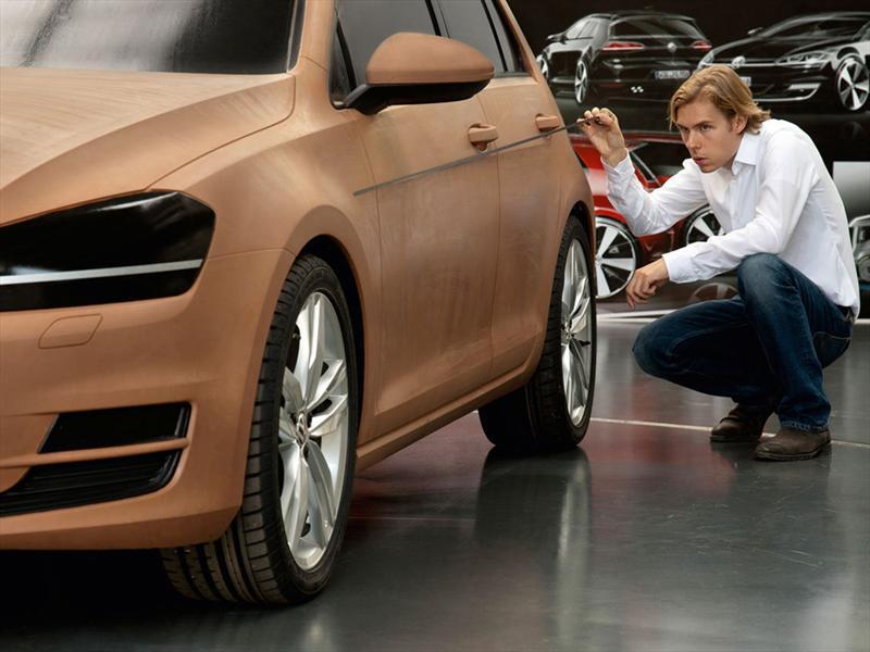 Volkswagen Golf VII: Imágenes del desarrollo