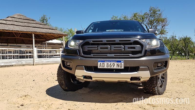 Ford Ranger Raptor a prueba
