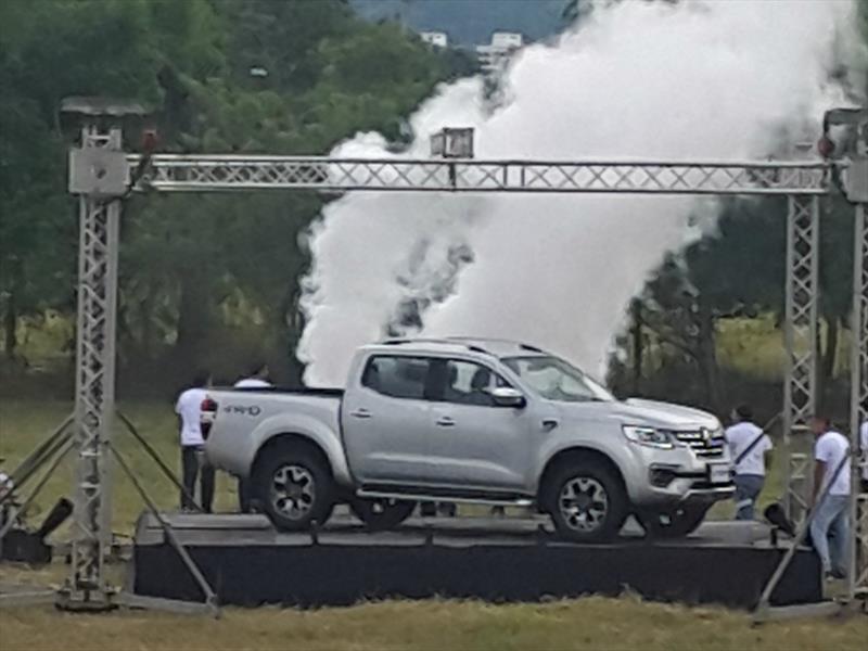 Renault Alaskan. Primer contacto Bucaramanga