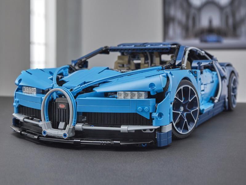 Bugatti Chiron de legos