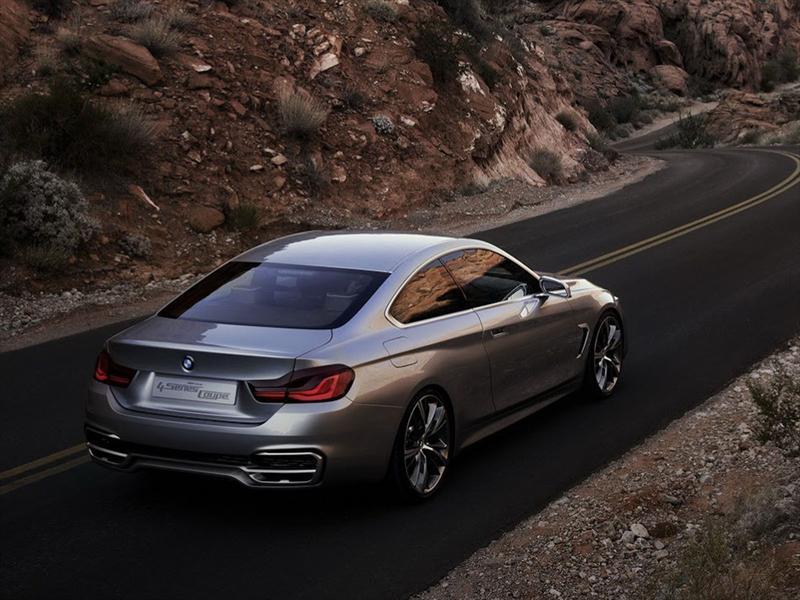 BMW Serie 4 Coupé Concept, primeras imágenes