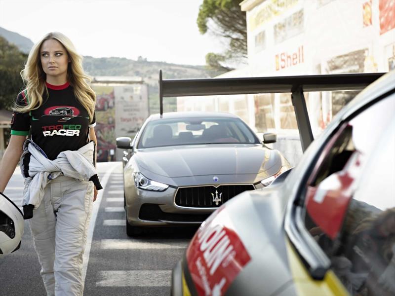 Maserati y la súpermodelo Genevieve Morton