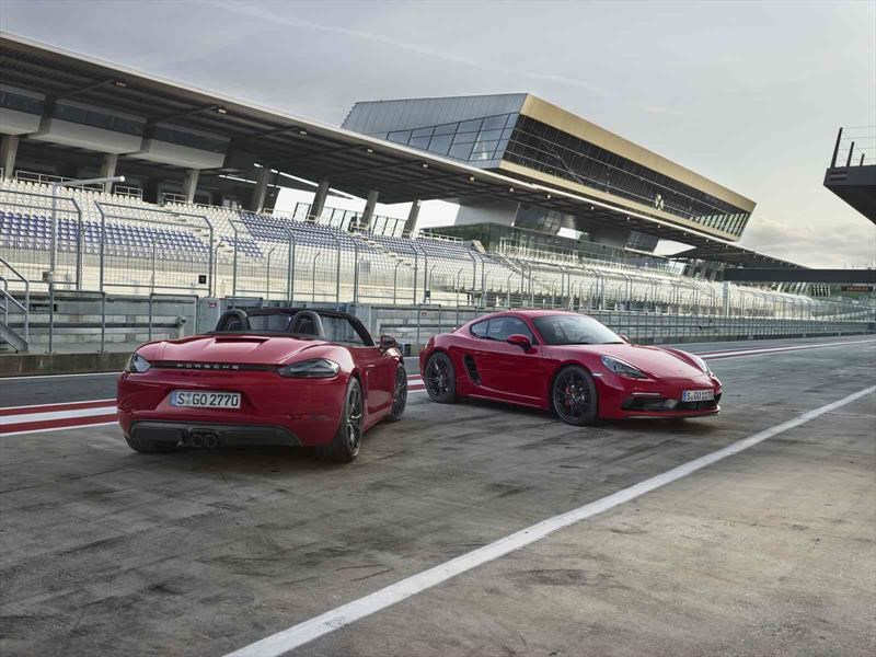 Porsche 718 Boxster GTS y 718 Cayman GTS