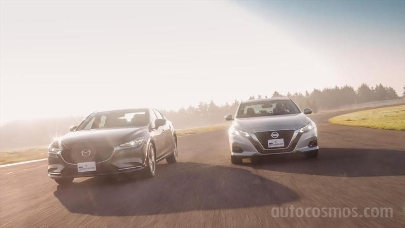 Nissan Altima 2019 vs Mazda6 2019