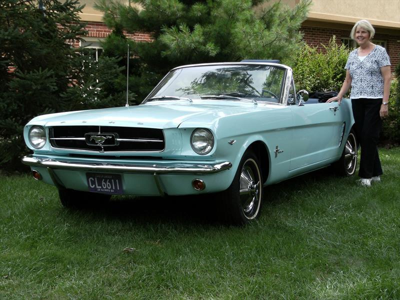 Mustang 50 años: El primer priopietario...
