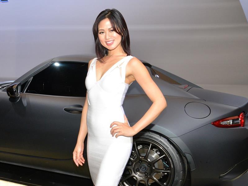 Las chicas del Auto Show de Los Ángeles 2016