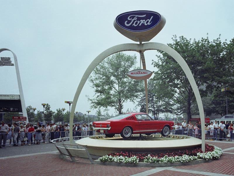 Mustang 50 años: 1964 el Ford Mustang debuta
