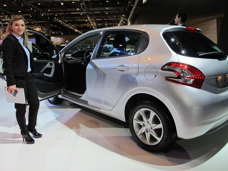 Peugeot 208 en el Salón de BA 2013