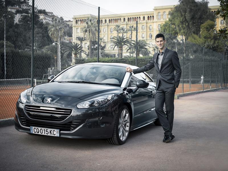 Novak Djokovic, nueva imagen de Peugeot