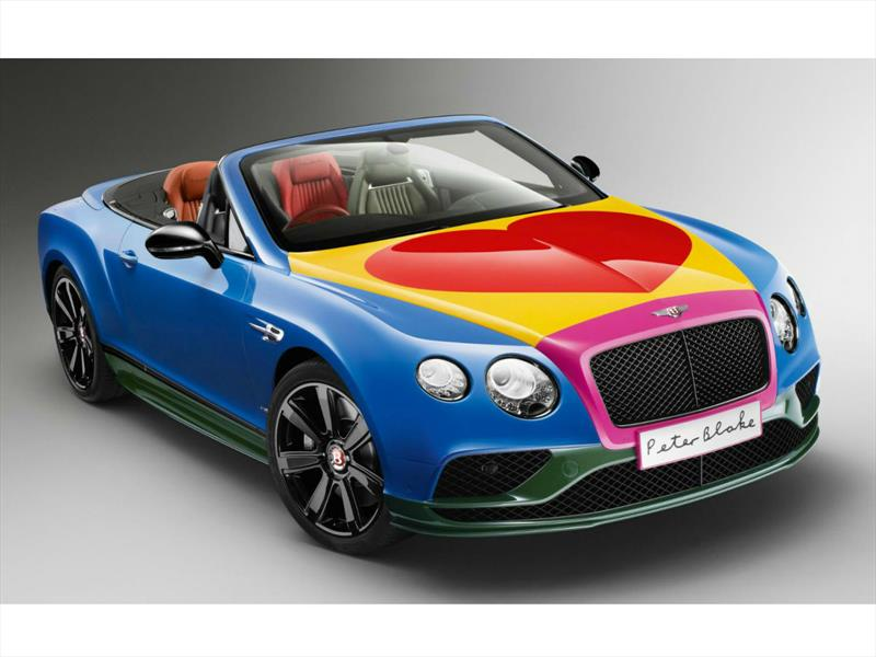 Bentley Continental GT V8 S por Sir Peter Blake