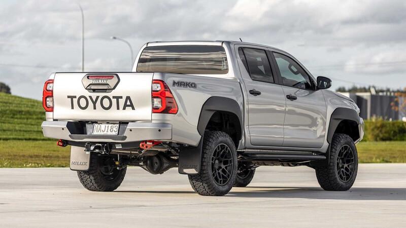 Toyota Hilux Mako: La anti Raptor de oriente
