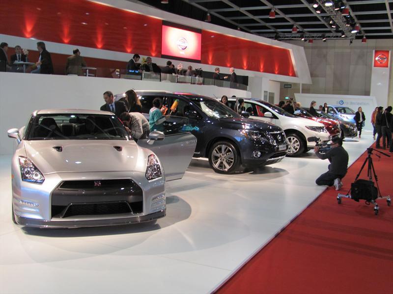 Nissan Juke, Sentra, Pathfinder y Leaf