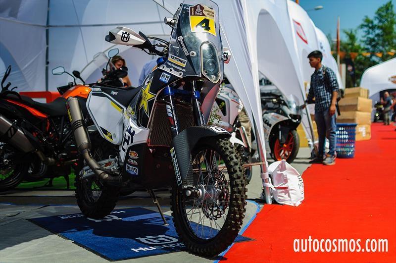 Husqvarna 450 Rally - Expo Motos 2016