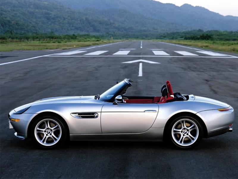 Top 10: BMW Z8 de Bond