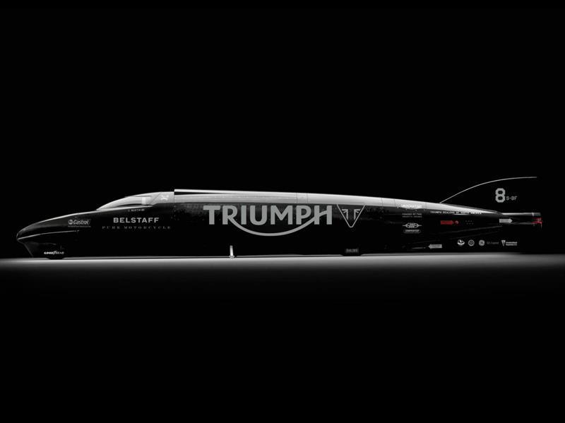 Triumph Rocket III Streamliner