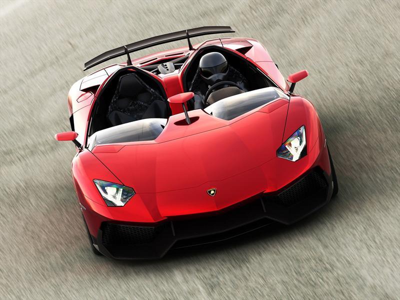 Top 10: Lamborghini Aventador J