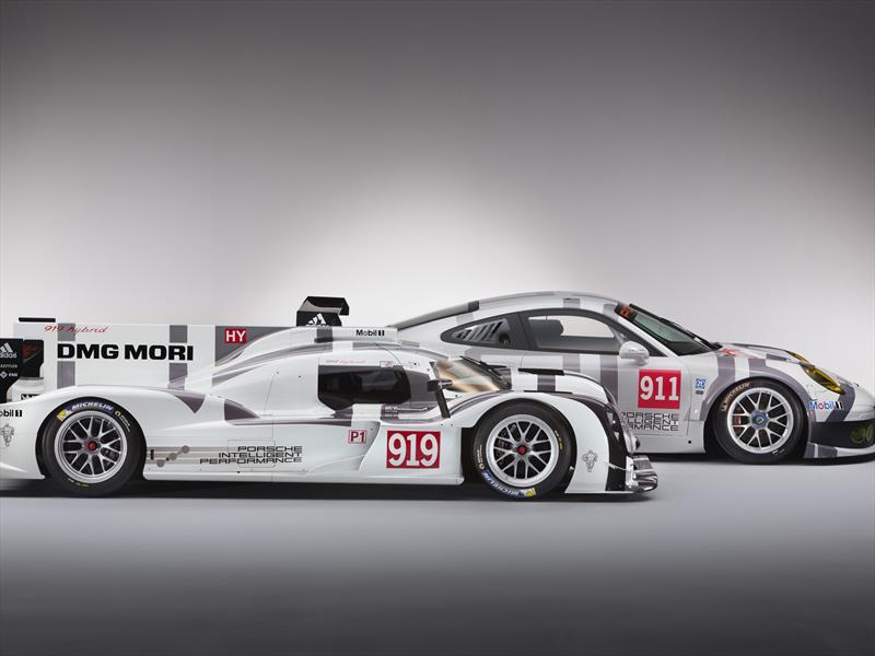 Porsche 919 Hybrid y 911 RSR en Ginebra