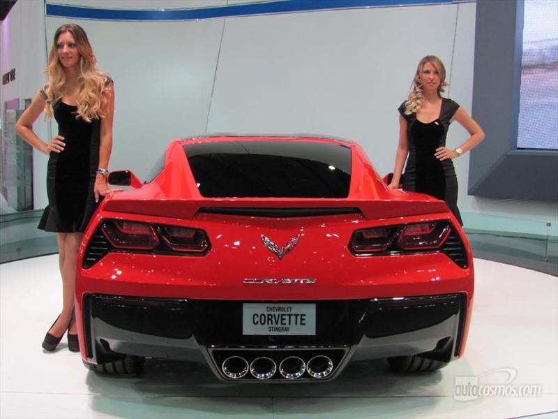 Chevrolet Corvette en el Salón de BA 2013