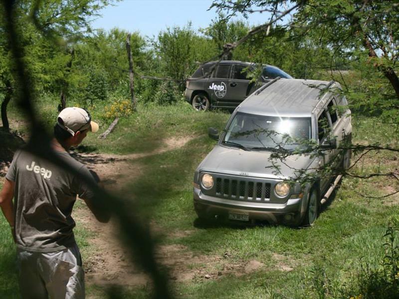 Travesía Jeep Club Argentina Compass y Patriot
