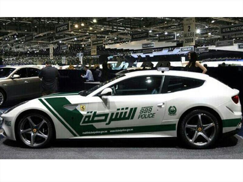 Patrullas de policía de Dubai