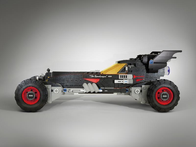 Batimóvil al estilo LEGO