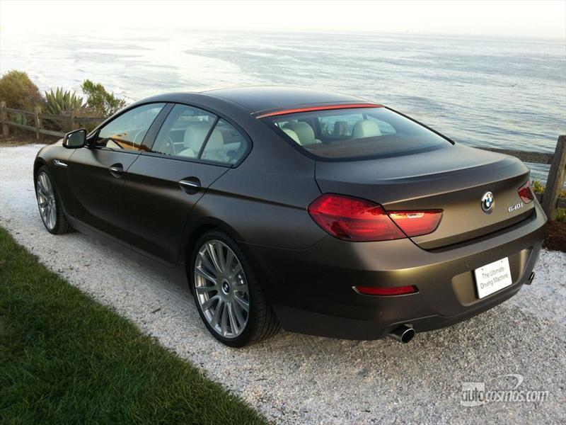 Manejamos el BMW Serie 6 Gran Coupé.