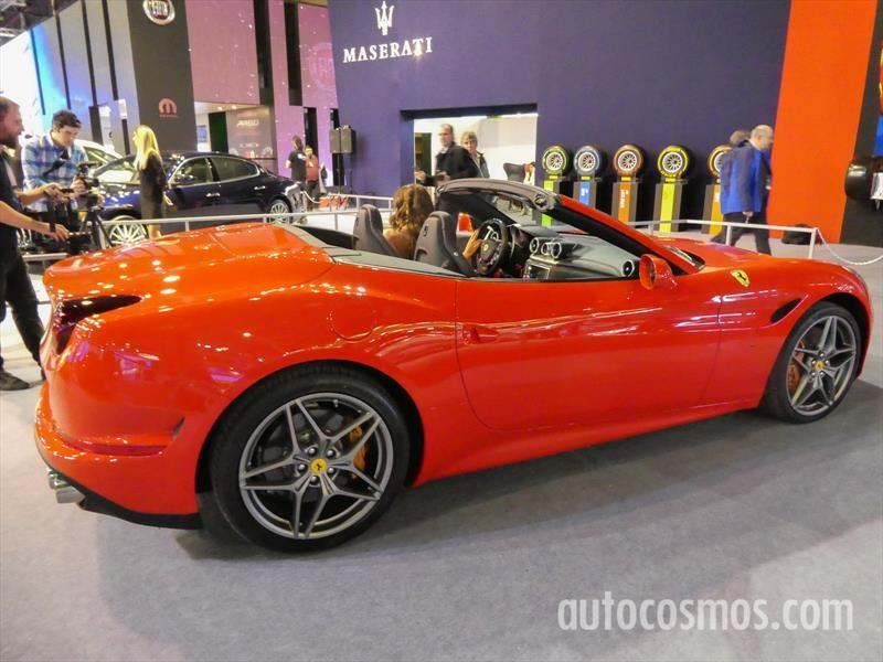 Ferrari Maserati en el Salón de Buenos Aires 2017